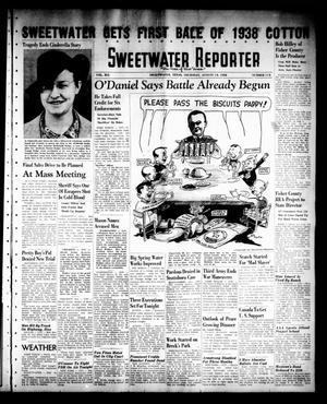 Primary view of object titled 'Sweetwater Reporter (Sweetwater, Tex.), Vol. 41, No. 117, Ed. 1 Thursday, August 18, 1938'.
