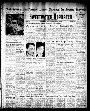 Sweetwater Reporter (Sweetwater, Tex.), Vol. 41, No. 122, Ed. 1 Thursday, August 25, 1938