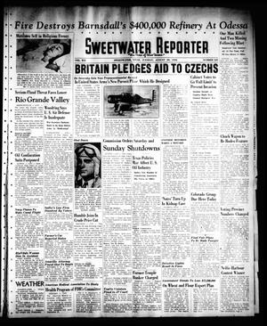 Primary view of object titled 'Sweetwater Reporter (Sweetwater, Tex.), Vol. 41, No. 125, Ed. 1 Tuesday, August 30, 1938'.