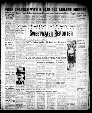 Sweetwater Reporter (Sweetwater, Tex.), Vol. 41, No. 126, Ed. 1 Wednesday, August 31, 1938