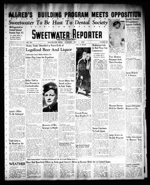 Primary view of object titled 'Sweetwater Reporter (Sweetwater, Tex.), Vol. 41, No. 127, Ed. 1 Thursday, September 1, 1938'.