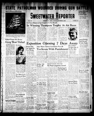 Sweetwater Reporter (Sweetwater, Tex.), Vol. 41, No. 129, Ed. 1 Tuesday, September 6, 1938