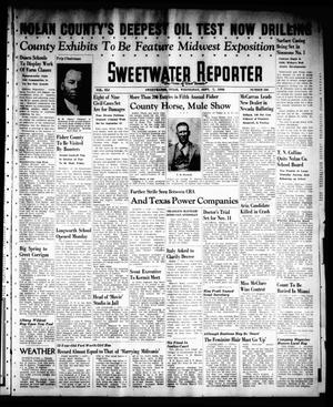 Primary view of object titled 'Sweetwater Reporter (Sweetwater, Tex.), Vol. 41, No. 130, Ed. 1 Wednesday, September 7, 1938'.