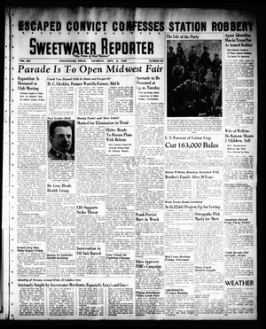 Sweetwater Reporter (Sweetwater, Tex.), Vol. 41, No. 131, Ed. 1 Thursday, September 8, 1938