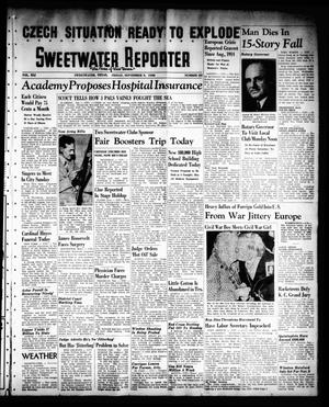 Sweetwater Reporter (Sweetwater, Tex.), Vol. 41, No. 131, Ed. 1 Friday, September 9, 1938