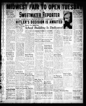 Primary view of object titled 'Sweetwater Reporter (Sweetwater, Tex.), Vol. 41, No. 131, Ed. 1 Sunday, September 11, 1938'.