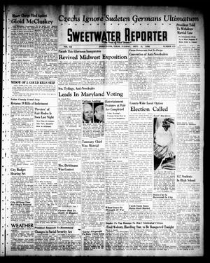 Sweetwater Reporter (Sweetwater, Tex.), Vol. 41, No. 133, Ed. 1 Tuesday, September 13, 1938