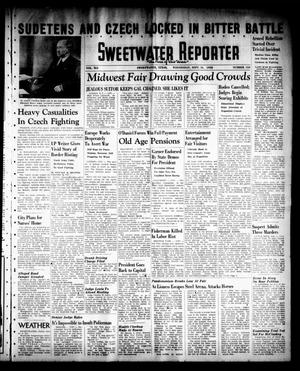 Primary view of object titled 'Sweetwater Reporter (Sweetwater, Tex.), Vol. 41, No. 134, Ed. 1 Wednesday, September 14, 1938'.