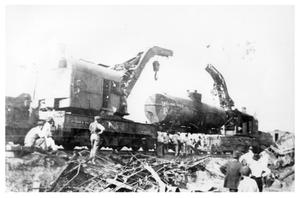 Primary view of object titled 'Train Wreck in Grapevine'.