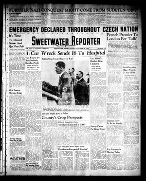 Primary view of object titled 'Sweetwater Reporter (Sweetwater, Tex.), Vol. 41, No. 135, Ed. 1 Sunday, September 18, 1938'.