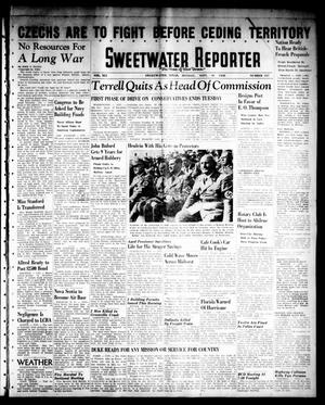 Primary view of object titled 'Sweetwater Reporter (Sweetwater, Tex.), Vol. 41, No. 137, Ed. 1 Monday, September 19, 1938'.