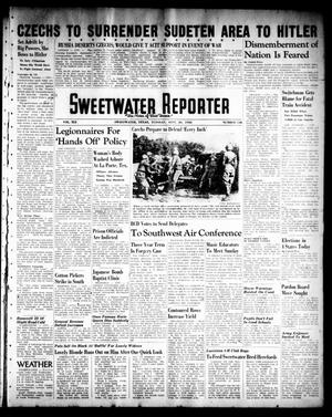Primary view of object titled 'Sweetwater Reporter (Sweetwater, Tex.), Vol. 41, No. 138, Ed. 1 Tuesday, September 20, 1938'.