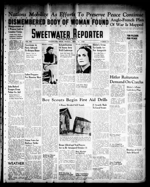 Primary view of object titled 'Sweetwater Reporter (Sweetwater, Tex.), Vol. 41, No. 141, Ed. 1 Monday, September 26, 1938'.