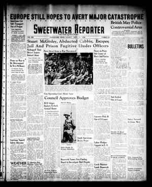 Primary view of object titled 'Sweetwater Reporter (Sweetwater, Tex.), Vol. 41, No. 143, Ed. 1 Tuesday, September 27, 1938'.