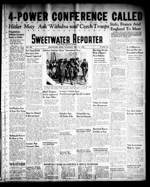 Sweetwater Reporter (Sweetwater, Tex.), Vol. 41, No. 144, Ed. 1 Wednesday, September 28, 1938