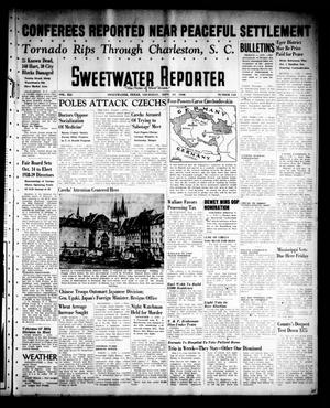 Primary view of object titled 'Sweetwater Reporter (Sweetwater, Tex.), Vol. 41, No. 145, Ed. 1 Thursday, September 29, 1938'.