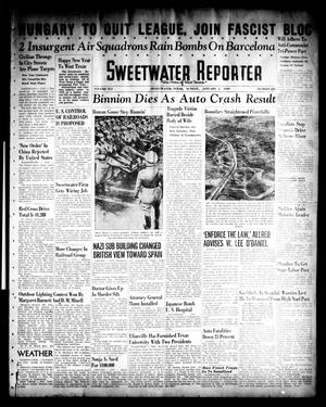 Primary view of object titled 'Sweetwater Reporter (Sweetwater, Tex.), Vol. 41, No. 221, Ed. 1 Sunday, January 1, 1939'.