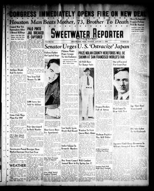 Primary view of object titled 'Sweetwater Reporter (Sweetwater, Tex.), Vol. 41, No. 223, Ed. 1 Tuesday, January 3, 1939'.