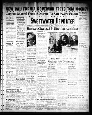Primary view of object titled 'Sweetwater Reporter (Sweetwater, Tex.), Vol. 41, No. 226, Ed. 1 Sunday, January 8, 1939'.