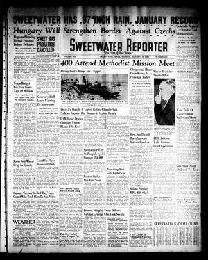 Primary view of object titled 'Sweetwater Reporter (Sweetwater, Tex.), Vol. 41, No. 227, Ed. 1 Monday, January 9, 1939'.