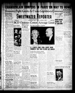 Primary view of object titled 'Sweetwater Reporter (Sweetwater, Tex.), Vol. 41, No. 228, Ed. 1 Tuesday, January 10, 1939'.