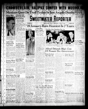 Sweetwater Reporter (Sweetwater, Tex.), Vol. 41, No. 228, Ed. 1 Wednesday, January 11, 1939