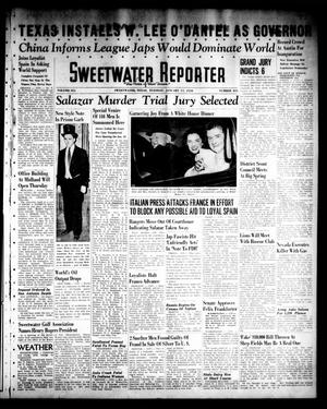 Primary view of object titled 'Sweetwater Reporter (Sweetwater, Tex.), Vol. 41, No. 231, Ed. 1 Tuesday, January 17, 1939'.