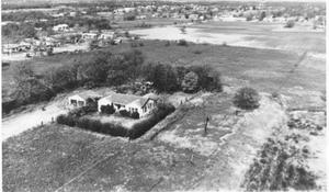 Primary view of object titled '[Aerial Photograph of a Section of Bedford, Texas #2]'.