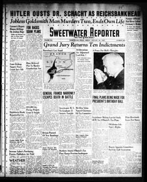 Primary view of object titled 'Sweetwater Reporter (Sweetwater, Tex.), Vol. 41, No. 233, Ed. 1 Friday, January 20, 1939'.