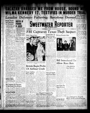 Primary view of object titled 'Sweetwater Reporter (Sweetwater, Tex.), Vol. 41, No. 234, Ed. 1 Tuesday, January 24, 1939'.