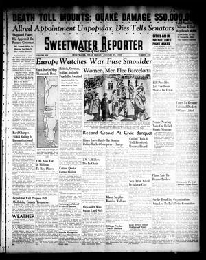 Primary view of object titled 'Sweetwater Reporter (Sweetwater, Tex.), Vol. 41, No. 238, Ed. 1 Friday, January 27, 1939'.
