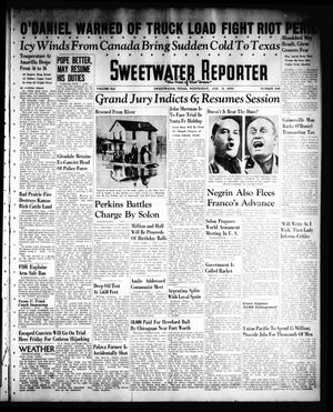 Primary view of object titled 'Sweetwater Reporter (Sweetwater, Tex.), Vol. 41, No. 248, Ed. 1 Wednesday, February 8, 1939'.