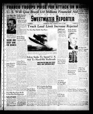 Primary view of object titled 'Sweetwater Reporter (Sweetwater, Tex.), Vol. 41, No. 273, Ed. 1 Thursday, March 9, 1939'.