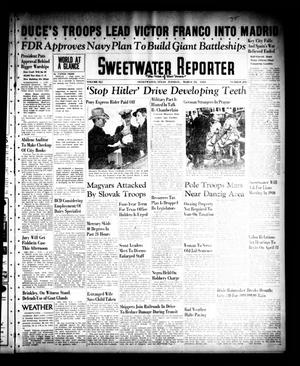 Primary view of object titled 'Sweetwater Reporter (Sweetwater, Tex.), Vol. 41, No. 288, Ed. 1 Tuesday, March 28, 1939'.