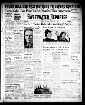 Primary view of object titled 'Sweetwater Reporter (Sweetwater, Tex.), Vol. 43, No. 2, Ed. 1 Tuesday, May 2, 1939'.