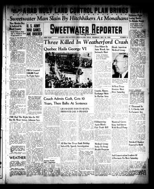 Primary view of object titled 'Sweetwater Reporter (Sweetwater, Tex.), Vol. 43, No. 16, Ed. 1 Thursday, May 18, 1939'.