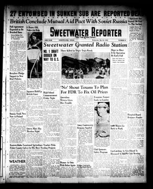 Primary view of object titled 'Sweetwater Reporter (Sweetwater, Tex.), Vol. 43, No. 21, Ed. 1 Wednesday, May 24, 1939'.