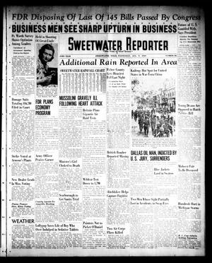 Primary view of object titled 'Sweetwater Reporter (Sweetwater, Tex.), Vol. 43, No. 82, Ed. 1 Wednesday, August 9, 1939'.