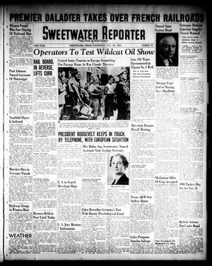 Primary view of object titled 'Sweetwater Reporter (Sweetwater, Tex.), Vol. 43, No. 99, Ed. 1 Wednesday, August 30, 1939'.