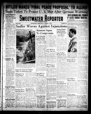 Primary view of object titled 'Sweetwater Reporter (Sweetwater, Tex.), Vol. 43, No. 129, Ed. 1 Friday, October 6, 1939'.