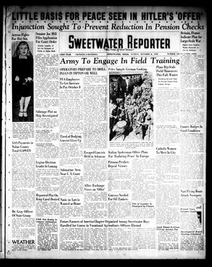 Primary view of object titled 'Sweetwater Reporter (Sweetwater, Tex.), Vol. 43, No. 130, Ed. 1 Sunday, October 8, 1939'.