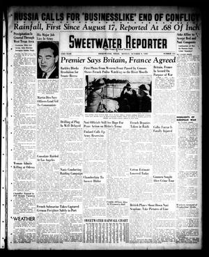 Sweetwater Reporter (Sweetwater, Tex.), Vol. 43, No. 131, Ed. 1 Monday, October 9, 1939