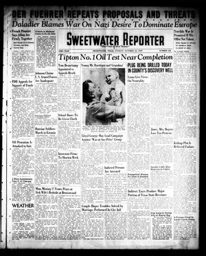 Primary view of object titled 'Sweetwater Reporter (Sweetwater, Tex.), Vol. 43, No. 132, Ed. 1 Tuesday, October 10, 1939'.