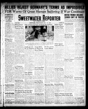 Primary view of object titled 'Sweetwater Reporter (Sweetwater, Tex.), Vol. 43, No. 134, Ed. 1 Thursday, October 12, 1939'.