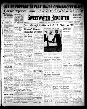 Primary view of object titled 'Sweetwater Reporter (Sweetwater, Tex.), Vol. 43, No. 135, Ed. 1 Friday, October 13, 1939'.