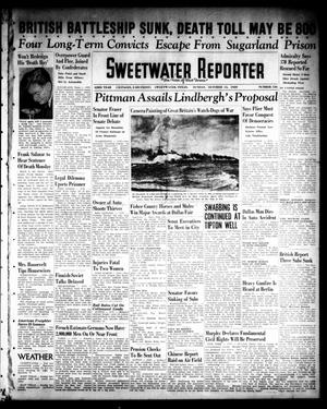 Primary view of object titled 'Sweetwater Reporter (Sweetwater, Tex.), Vol. 43, No. 136, Ed. 1 Sunday, October 15, 1939'.