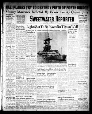 Primary view of object titled 'Sweetwater Reporter (Sweetwater, Tex.), Vol. 43, No. 137, Ed. 1 Monday, October 16, 1939'.