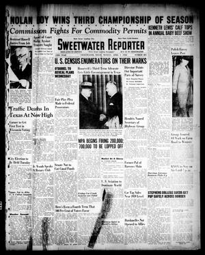 Primary view of object titled 'Sweetwater Reporter (Sweetwater, Tex.), Vol. 43, No. 281, Ed. 1 Monday, April 1, 1940'.