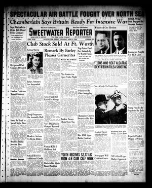 Primary view of object titled 'Sweetwater Reporter (Sweetwater, Tex.), Vol. 43, No. 284, Ed. 1 Thursday, April 4, 1940'.