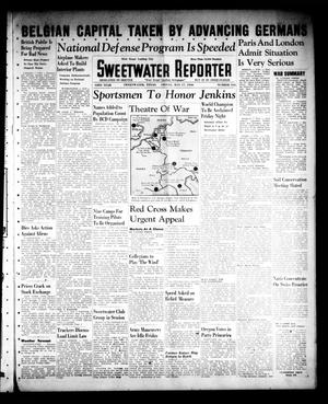 Primary view of object titled 'Sweetwater Reporter (Sweetwater, Tex.), Vol. 43, No. 317, Ed. 1 Friday, May 17, 1940'.